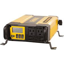 DEWALT 1000-Watt Power Inverter-DXAEPI1000 - The Home Depot Tripp Lite Power Invters Inlad Truck Van Company How To Install A Invter In Your Vehicle Biz Shopify Amazoncom Kkmoon 1500w Watt Dc 12v To 110v Ac Shop At Lowescom Autoexec Roadmaster Car With Builtin And Printer 1200w Charger Convter China Iso Certificated 24v Oput Cabin Air 24v Pure Sine Wave 153000w Aus Plug Caravan Tractor Auto Supplies Http 240v Top Quality 1000w Truckrv 3000w 6000w Pure Sine Wave Soft Start Power Invter Led Meter