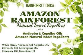 amazon rainforest insect repellent rainforest chica