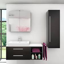 badmöbel set city 205 v3 esche schwarz badezimmermöbel waschtisch 120 cm 16962 ohne spiegelschrankbeleuchtung
