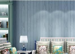 wellyu retro retro mittelmeer holzmaserung vlies tapete schlafzimmer wohnzimmer tv gestreifte tapete grün blau grau