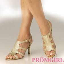 gold low heel evening shoes is heel