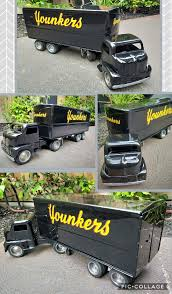 100 Correct Truck And Trailer 1953 TONKA YOUNKERS Private Lable Restored All Period Correct Toy