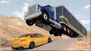 100 Cars Vs Trucks BeamNG Drive 12 YouTube