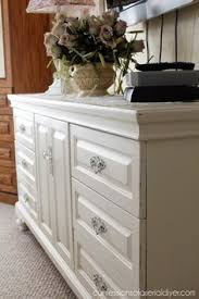 Sherwin Williams White Muslin Furniture Paint Color