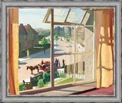 blick aus dem schlafzimmer des künstlers ca 1930 zum detail siehe 244507