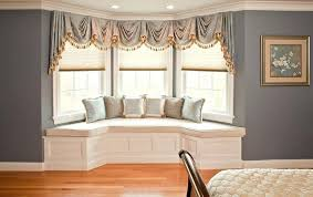 Living Room44 Bay Window Treatment Ideas Room Awesome 47 New Dining