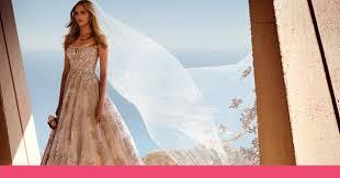 rose gold wedding inspiration david u0027s bridal