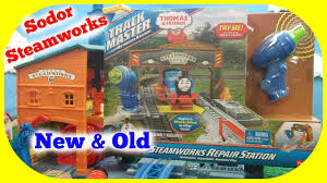 Trackmaster Tidmouth Sheds Toys R Us by Thomas And Friends Sodor Steamworks Spin And Fix Thomas Old
