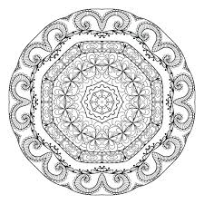 Detailed Mandala Coloring Pages For Adults Shoot Free Printable Mandalas To Online