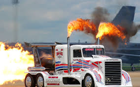 100 Big Trucks Racing Trucks Race Racing Gd Drag Racing Semi Tractor Big Rig Fire Flames