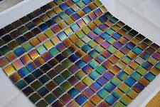 Iridescent Mosaic Tiles Uk by Mosaic Tile Sheets Ebay