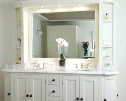 Shabby Chic White Bathroom Vanity by Shabby Chic Bathroom Wall Cabinet With Mirror Telecure Me