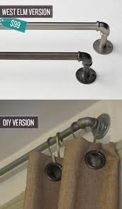 Target Curtain Rod Ends by Best 25 Cafe Curtain Rods Ideas On Pinterest Kitchen Curtains