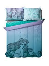 amazon com disney the little mermaid sketch ombre full queen