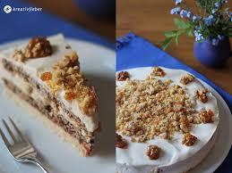 sonntagskuchen sauerrahm walnuss torte kreativfieber rezepte
