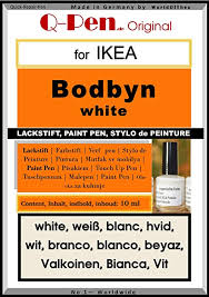hdo lackstift farbstift touch up pen for ikea bodbyn white