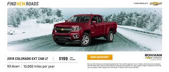 100 Chevrolet Truck Lease Current Car SUV Incentives Bowman