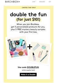 Birchbox: Double The Fun (5 FREE Mystery Samples) (& Coupon ... Carryout Menu Coupon Code Coupon Processing Services Adventures In Polishland Stella Dot Promo Codes Best Deals Bh Cosmetics Blushed Neutrals Palette 2016 Favorites Bh Bh Cosmetics Mothers Day Sale Lots Of 43 Off Sale Ends Buy Bowling Green Ky Up To 50 Site Wide No Need Universal Outlet Adapter Deals Boundary Bathrooms Smashbox 2018 Discount Promo For Elf Booking With Expedia