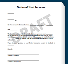 Beautiful Rent Increase Template s Example Resume Ideas