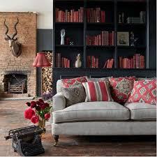 red and black living room ideas photos houzz
