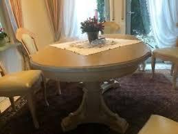 klassische tisch stuhl sets fürs esszimmer 7 teile