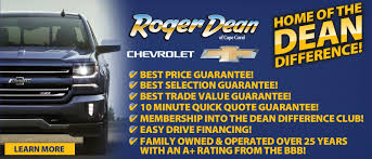Roger Dean Chevrolet Cape Coral Is Your New And Used Chevrolet ...
