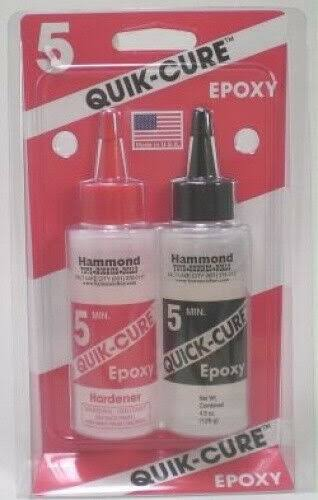 Bob Smith Industries 5 Min Quik-Cure Epoxy