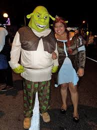 West Hollywood Halloween Parade Address by Shrek Costume Costumes Fc