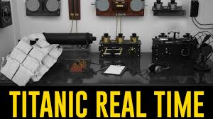 Roblox Rms Olympic Sinking by Titanic Wireless Marconi Room Sinking In Real Time Youtube