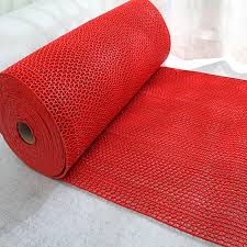 Cutout Pad Pvc Plastic Floor Mats Slip Resistant Waterproof Mesh