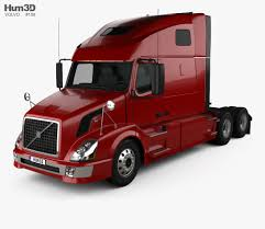 100 Tractor Truck Volvo VNL 660 2011 3D Model Vehicles On Hum3D