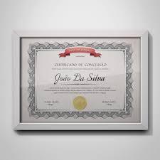 Certificado De Conclusão Até 10 Nomes Arte Digital 02