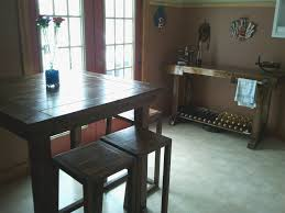Imposing Design Bar Style Dining Table Awesome Ana White Pub Diy