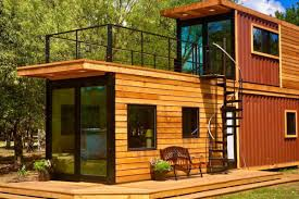 100 Container Homes Texas Shipping Container Home Has A Sweet Roof Terrace Curbed