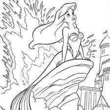 1000 Images About Coloring Pages Little Mermaid On Pinterest