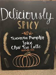 Pumpkin Spice Frappuccino Recipe Starbucks by New Sign For The Pumpkin Chai Starbucks Coffee Love