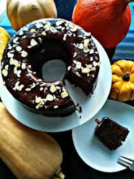 saftiger nuss schoko kuchen mit kürbis tanja s süß