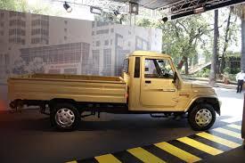 Mahindra Bolero Maxi Truck Plus Beige Side