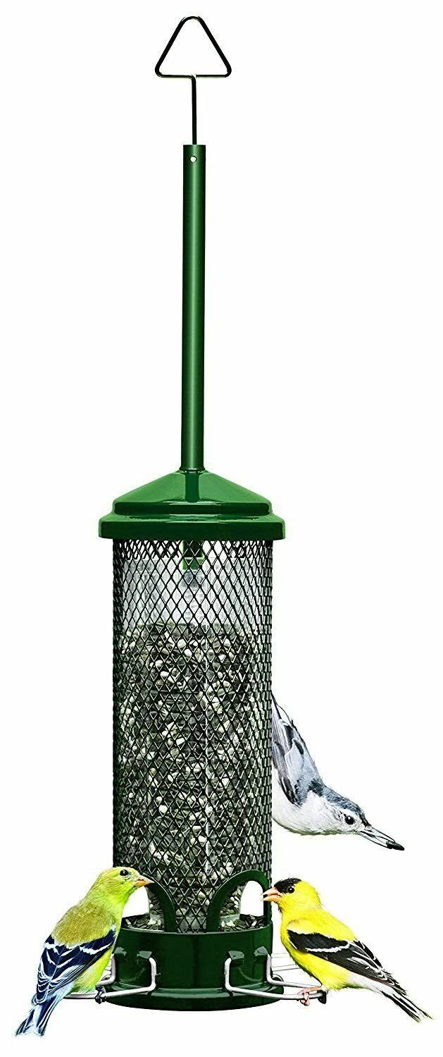 "Brome Squirrel Buster Mini Wild Bird Feeder - 4.4"" x 4.4"" x 21"""