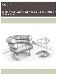 Bibendum Chair By Eileen Gray by Furniture Sketch Booklet On Philau Portfolios
