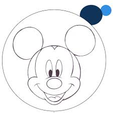 Coloring Mickey Mouse 1