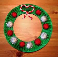 Cute Christmas Wreath Easy For Kids To Make