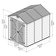Keter Manor Resin Shed 4 X 6 by Palram Skylight Storage Shed Hayneedle