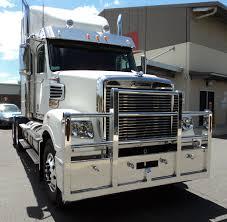 100 Raney Truck Parts Freightliner Coronado 114 Warrego 4 Post Bullbar Freightliner