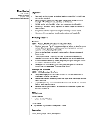 Resume Templates Cna Sample Entry Level For Hospital No Experience Certified Nursing Assistant With 791x