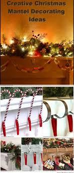 Creative Christmas Mantel Decorating Ideas