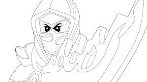 Lego Coloring Page 2 Pages Ninjago Kai Zx