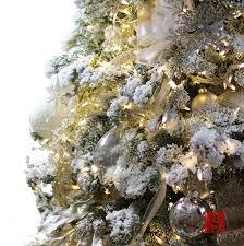 Flocked Real Christmas Trees by Amazon Com The Original Snoflock Premium Artificial Decorative