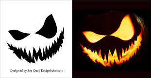 Free Walking Dead Pumpkin Carving Templates by 10 Free Scary Halloween Pumpkin Carving Patterns Stencils