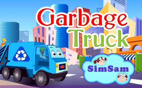 Garbage Truck Nursery Rhymes By Simsam - YouTube